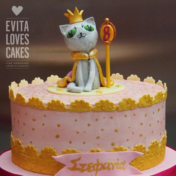Cat-Princess_Birthday_Cake_EvitaLovesCakes