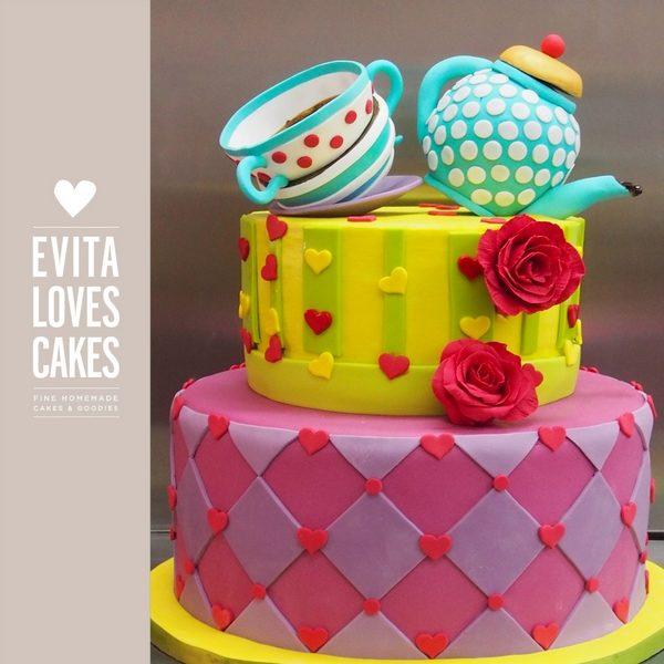 Teatime_Birthday_Cake_EvitaLovesCakes