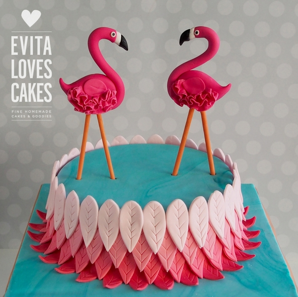 Flamingos_Birthday_Cake_EvitaLovesCakes