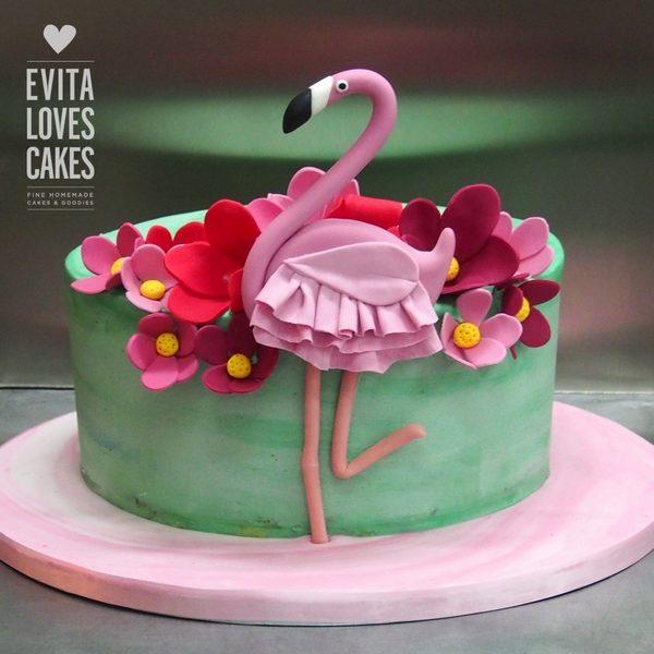 Flamingo_Birthday_Cake_EvitaLovesCakes