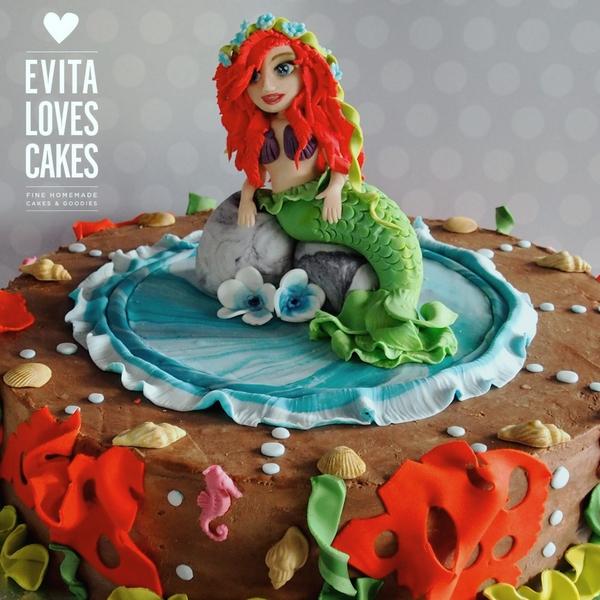 gorgona-ariel_Birthday_Cake_EvitaLovesCakes