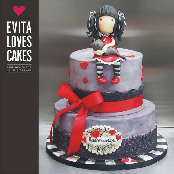 Gorjuss_Birthday_Cake_EvitaLovesCakes