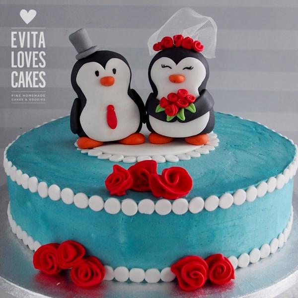 penguins_Birthday_Cake_EvitaLovesCakes