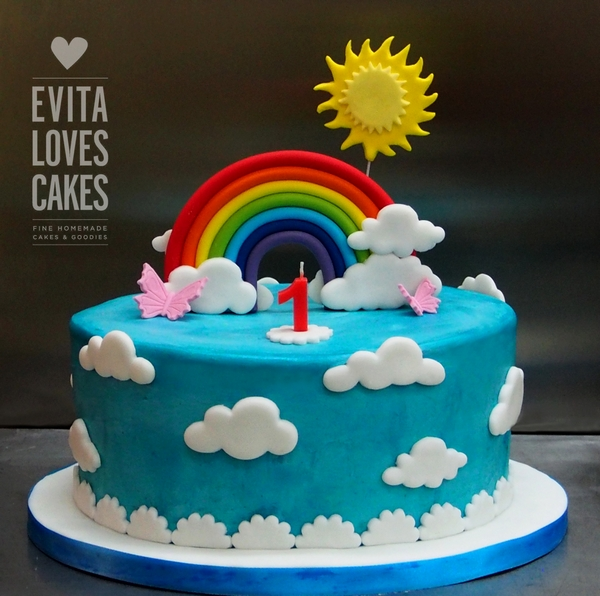 rainbow_Birthday_Cake_EvitaLovesCakes