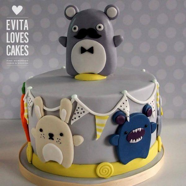 Happy-Creatures_Birthday_Cake_EvitaLovesCakes