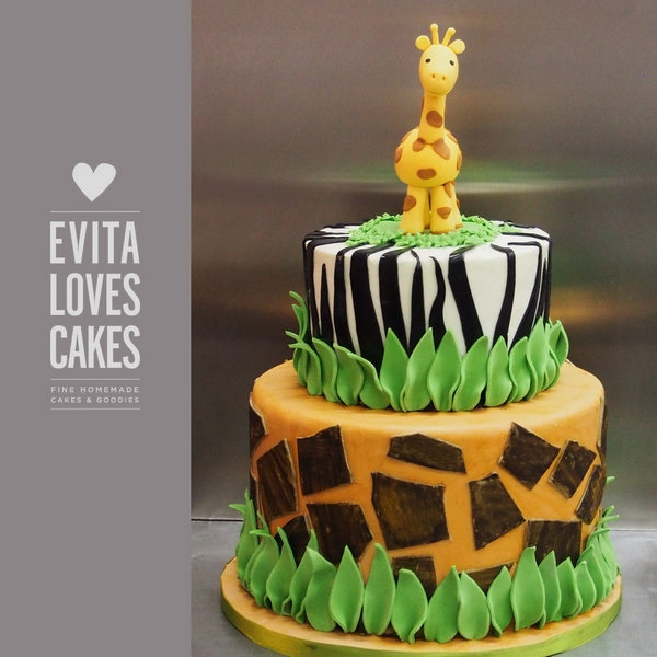 Jungle_Birthday_Cake_EvitaLovesCakes