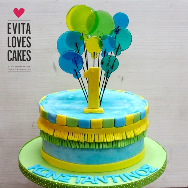 Balloons_Birthday_Cake_EvitaLovesCakes