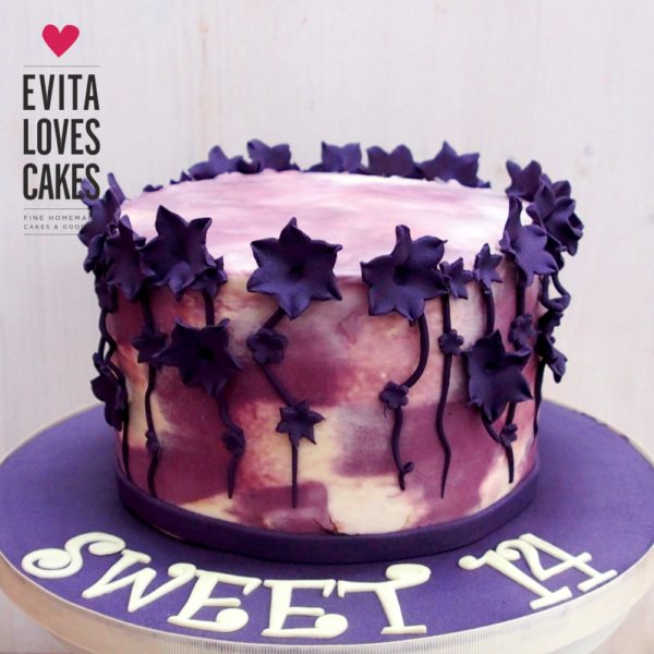 Purple_Flowers_Birthday_Cake_EvitaLovesCakes