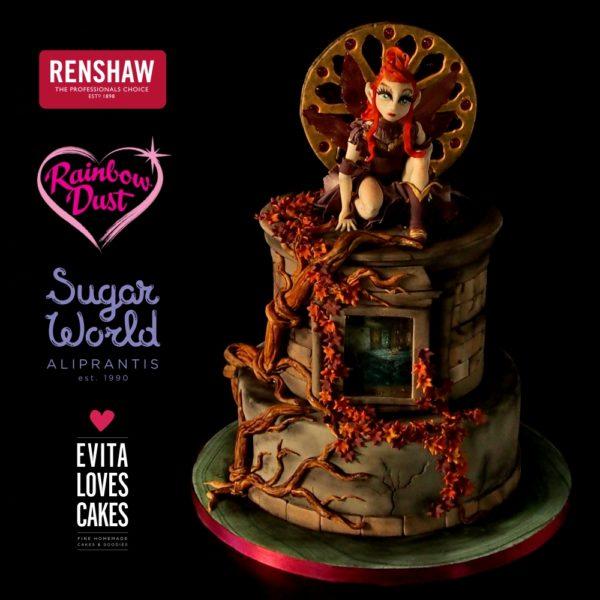 Neraida_Birthday_Cake_EvitaLovesCakes