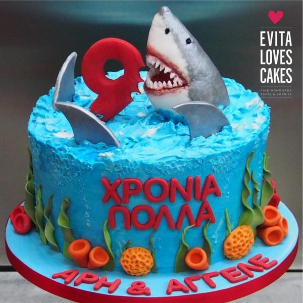 Shark_Birthday_Cake_EvitaLovesCakes