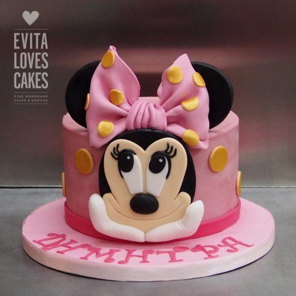 minnie_mouse_birthday_Cake_EvitaLovesCakes
